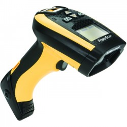 Datalogic - PM9300-DAR433RB - Datalogic PowerScan PM9300-D Handheld Barcode Scanner - Wireless Connectivity - 35 scan/s1D - Laser - , Radio Frequency - Yellow, Black