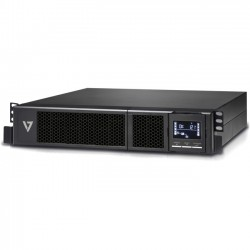 V7 - UPS1RM2U3000-1N - V7 UPS 3000VA Rack Mount 2U US - 3000 VA/2700 W - 3.70 Minute Stand-by Time - 2U Rack-mountable - 8 x NEMA 5-20R
