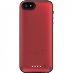 Mophie - 39364BBR - Mophie juice pack air Made for iPhone 5 - iPhone - Red - Rubberized