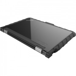Gumdrop Cases - DT-L11EYW-BLK - Gumdrop DropTech Lenovo Yoga 11e Windows Case - Notebook - Black - Silicone, Polycarbonate