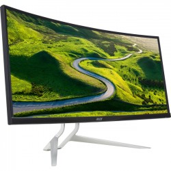 Acer - UM.TX2AA.001 - Acer XR382CQK 37.5 LCD Monitor - 21:9 - 5 ms - 3840 x 1600 - 1.07 Billion Colors - 300 Nit - 100,000,000:1 - UW-QHD+ - Speakers - HDMI - DisplayPort - USB - MPR II