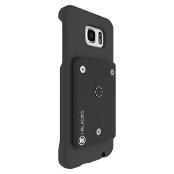 i-BLADES - SCB1230009 - i-BLADES GALAXY S7 SmartCase + Enviro Sensor + SmartBlade - Smartphone - Matte Black - Smooth, Rubberized - Polycarbonate - 48 Drop Height