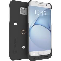 i-BLADES - SCB1230014 - i-BLADES GALAXY S7 Edge SmartCase + Enviro Sensor + SmartBlade - Smartphone - Matte Black - Smooth, Rubberized - Polycarbonate
