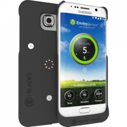 i-BLADES - SCA1230041 - i-BLADES GALAXY S6 EDGE SmartCase + Enviro Sensor - Smartphone - Smooth, Rubberized - Polycarbonate