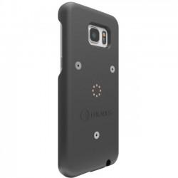 i-BLADES - SCA1230044 - i-BLADES GALAXY S7 SmartCase + Enviro Sensor - Smartphone - Matte Black - Smooth, Rubberized - Polycarbonate
