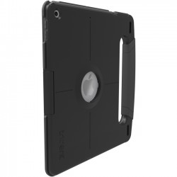 Trident Case - KAIP3KI - Trident Kraken A.M.S. Carrying Case for 9.7 iPad (2017) - Black - Impact Resistant Corner - Polycarbonate - Handle