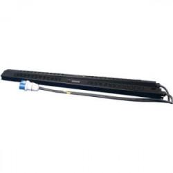 Panduit - GMSPO-A0291BL - Panduit GMSPO-A0291BL Power Outlet Unit - Monitored/Switched - NEMA L6-30P - 6 x IEC 60320 C19, 18 x IEC 60320 C13 - 230 V AC - Network (RJ-45) - 1U - Vertical - Rack Mount