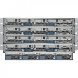 Cisco - UCS-SP-5108-AC2-RF - Cisco UCS 5108 Blade Server Chassis - Refurbished - Rack-mountable - Gray - 6U - 8 x Fan(s) Installed - 4 x 2500 W - Power Supply Installed - TAA Compliant