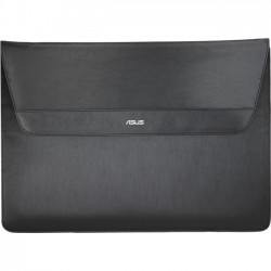 Asus - 90XB03S0-BSL000 - Asus UltraSleeve Carrying Case (Sleeve) for 13.3 Notebook - Black - Polyurethane, Polyester - Asus logo - 10.8 Height x 14.8 Width x 0.6 Depth