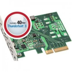 Sonnet Technologies - BRD-UPGRTB3-E3 - Sonnet Thunderbolt 3 Upgrade Card - PCI Express - Plug-in Card - 2 Thunderbolt Port(s) - PC, Mac