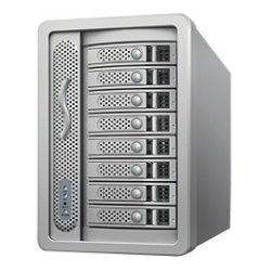 Sonnet Technologies - FUS-DX8S-0TB - Sonnet Fusion DX800RAID Drive Enclosure Desktop - 8 x HDD Supported - 8 x Total Bay - Serial ATA - Mini-SAS - Cooling Fan