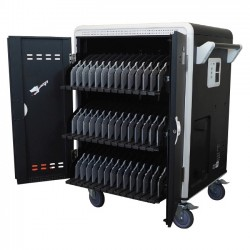 AVer Information - CHRGS42I+ - AVer AVerCharge S42i+ 42 Device Intelligent Charging Cart - 4 Casters - 5 Caster Size - 32.3 Width x 24.9 Depth x 42.6 Height - For 42 Devices
