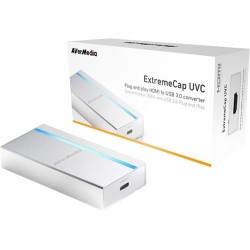 AverMedia - BU110 - AVerMedia ExtremeCap UVC - Functions: Video Streaming, Video Capturing - 1920 x 1080 - MJPEG - USB - PC, Linux, Mac - External