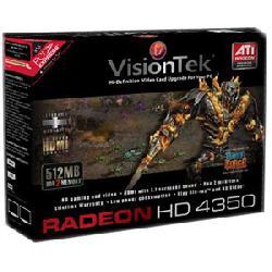 VisionTek - 900270 - Visiontek Radeon HD 4350 Graphics Card - ATi Radeon HD 4350 - 512MB DDR2 SDRAM 64bit - PCI Express x16