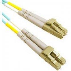 C2G (Cables To Go) - 33046 - 2m LC-LC 10Gb 50/125 OM3 Duplex Multimode PVC Fiber Optic Cable - Aqua - Fiber Optic for Network Device - LC Male - LC Male - 10Gb - 50/125 - Duplex Multimode - OM3 - 10GBase-SR, 10GBase-LRM - 2m - Aqua
