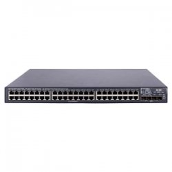 Hewlett Packard (HP) - JG258A - HP A5800-48G TAA Compliant Layer 3 Switch - 48 Ports - Manageable - 5 x Expansion Slots - 10/100/1000Base-T - 48 x Network, 4 x Expansion Slot - Gigabit Ethernet, Fast Ethernet - 4 x SFP+ Slots - 3 Layer Supported - 1U High