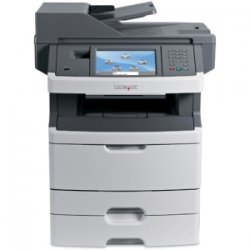 Lexmark - 13C1262 - Lexmark X466DTE Government Compliant Multifunction Printer - Monochrome - 40 ppm Mono - 1200 x 1200 dpi - Copier, Scanner, Printer, Fax