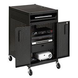 Audio Equipment Cabinet