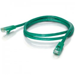 C2G (Cables To Go) - 19387 - C2G-100ft Cat5e Snagless Unshielded (UTP) Network Patch Cable - Green - Category 5e for Network Device - RJ-45 Male - RJ-45 Male - 100ft - Green