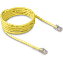 Belkin / Linksys - A3L781-10-YLW - Belkin - Patch cable - RJ-45 (M) to RJ-45 (M) - 10 ft - CAT 5e - molded - yellow