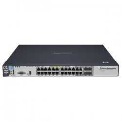 Hewlett Packard (HP) - J8692A#ABA - HP-IMSourcing ProCurve 3500yl-24G-PWR Intelligent Edge Switch - 20 x Gigabit Ethernet Network, 4 x Gigabit Ethernet Network, 4 x Gigabit Ethernet Expansion Slot - Manageable - Twisted Pair - 4 Layer Supported -
