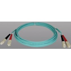 Tripp Lite - N806-10M - Tripp Lite 10M 10Gb Duplex Multimode 50/125 OM3 LSZH Fiber Optic Patch Cable SC/SC Aqua 33' 33ft 10 Meter - 32.81ft