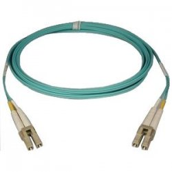 Tripp Lite - N820-15M - Tripp Lite 10Gb Duplex Multimode 50/125 OM3 - LSZH Fiber Patch Cable, (LC/LC) - Aqua, 15M (50-ft.)