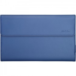 Asus - 90XB001P-BSL030 - Asus VersaSleeve Carrying Case (Sleeve) for 7 Tablet - Blue - Polyurethane, MicroFiber Interior - 8 Height x 5.2 Width x 0.6 Depth