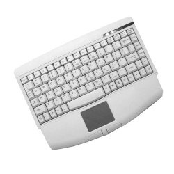 Adesso / ADS Technologies - ACK-540UW - Adesso Mini Keyboard ACK-540UW - USB - QWERTY - 89 Keys - White