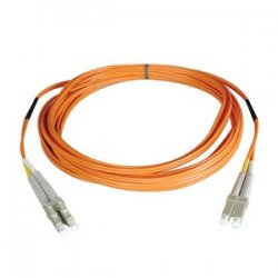 Tripp Lite - N520-06M - Tripp Lite 6M Duplex Multimode 50/125 Fiber Optic Patch Cable LC/LC 20' 20ft 6 Meter - LC Male Network - LC Male Network - 20ft - Orange