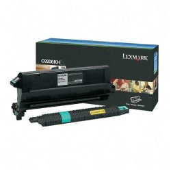 Lexmark - C9206KH - Lexmark Original Toner Cartridge - Black - Laser - 15000 Pages