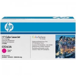 Hewlett Packard (HP) - CE263AG - HP 648A Original Toner Cartridge - Single Pack - Laser - 11000 Pages - Magenta - 1 Each