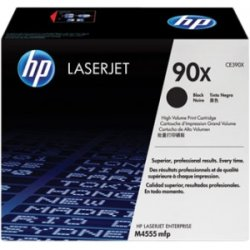 Hewlett Packard (HP) - CE390XG - HP 90X (CE390XG) High Yield Black Original LaserJet Toner Cartridge for US Government - Laser - 24000 Page - 1 Each