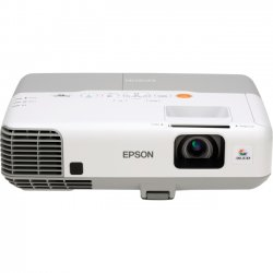 Epson - V11H38212021 - Epson PowerLite 93+ LCD Projector - HDTV - 4:3 - F/1.58 - 1.72 - UHE - 200 W - NTSC, PAL, SECAM - 5000 Hour - 6000 Hour - 1024 x 768 - XGA - 2,000:1 - 2600 lm - HDMI - USB - VGA In - Ethernet - 312 W - White, Gray Color - 2 Year