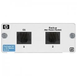 Hewlett Packard (HP) - J8454A - HP ProCurve Secure Router dl 1xE1 Module - 1 x E1/FE1