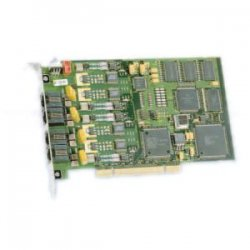 Dialogic - 881-775 - Dialogic D4PCIUFW Combined Media Board - 4 - PCI - PCI Half-length