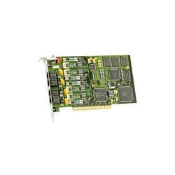 Dialogic - 881-803 - Dialogic D4PCIUFWEU Voice Board - PCI - 4 x Phone Line (RJ-11) - Plug-in Card