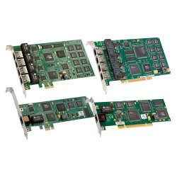 Dialogic - 306-380 - Dialogic Diva UM-4BRI-8 Voice Board - PCI Express - 4 x Network (RJ-45) - ISDN - Plug-in Card