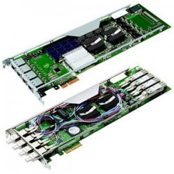Intel - EXPI9014PTBLK - Intel PRO/1000 PT Quad Port Bypass Server Adapter - PCI Express x4 - 4 x RJ-45 - 10/100/1000Base-T - Retail