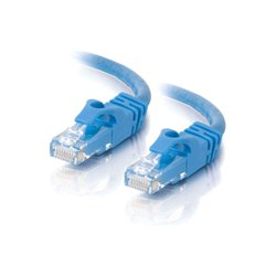 C2G (Cables To Go) - 29018 - C2G-14ft Cat6 Snagless Unshielded (UTP) Network Patch Cable (50pk) - Blue - Category 6 for Network Device - RJ-45 Male - RJ-45 Male - 14ft - Blue