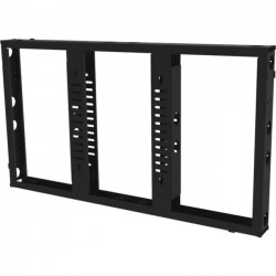 "Premier Mounts - MVW55 - Premier Mounts MVW55 Wall Mount for Flat Panel Display - 55"" Screen Support - 100 lb Load Capacity - Black"