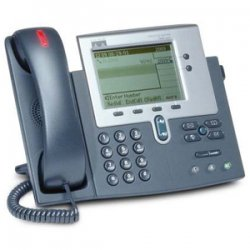 Cisco - CP7940G-RF - Cisco 7940G Unified IP Phone - 2 x RJ-45 10/100Base-TX , 1 x Headset - 2Phoneline(s) - Programmable