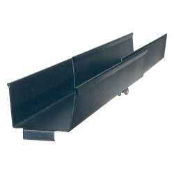 APC / Schneider Electric - AR8008BLK - APC Side Channel Cable Trough - Cable Management Tray - Black