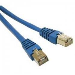 C2G (Cables To Go) - 27261 - C2G 14ft Cat5e Molded Shielded (STP) Network Patch Cable - Blue - RJ-45 Male - RJ-45 Male - 14ft - Blue