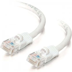 "C2G (Cables To Go) - 29952 - C2G 1ft Cat5e Snagless Unshielded (UTP) Network Patch Cable - White - RJ-45 Male - RJ-45 Male - 12"" - White"
