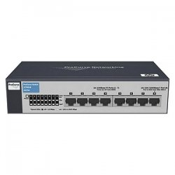 Hewlett Packard (HP) - J9079A #ABA - HP ProCurve 1700-8 Ethernet Switch - 7 x 10/100Base-TX, 1 x 10/100/1000Base-T