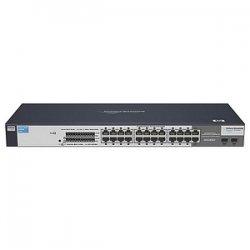 Hewlett Packard (HP) - J9080A #ABA - HP ProCurve 1700-24 Ethernet Switch - 22 x 10/100Base-TX, 2 x 10/100/1000Base-T