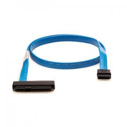 Hewlett Packard (HP) - AE466A - HP External Infiniband to Mini SAS 1x-2M Cable Assembly - SFF-8470 - SFF-8088