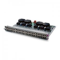 Cisco - WS-X4248-RJ21V= - Cisco Catalyst 4000 Series Switching Module - 48 x 10/100Base-TX