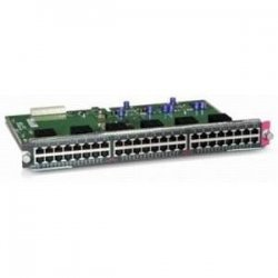 Cisco - WS-X4548-GB-RJ45V - Cisco Catalyst Switching Module - For Switching Network - 48 x 10/100/1000Base-T LAN - UTP - 1.25 MB/s Ethernet, 12.50 MB/s Fast Ethernet, 128 MB/s Gigabit Ethernet100 Mbit/s